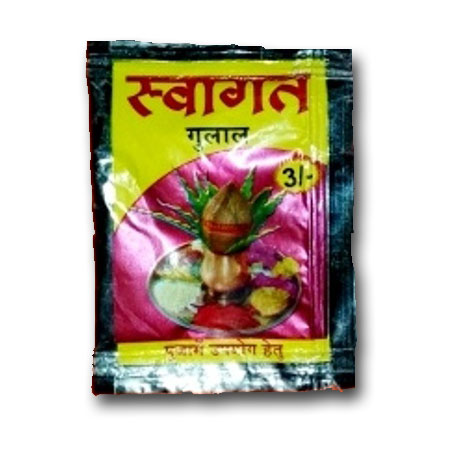 swagat gulal pouch 3rs