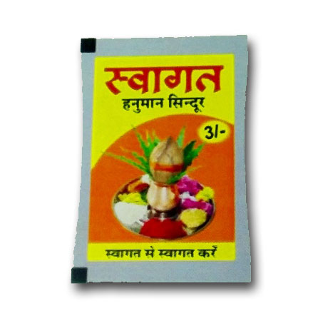 SWAGAT SINDOOR pouch 3Rs  PACK